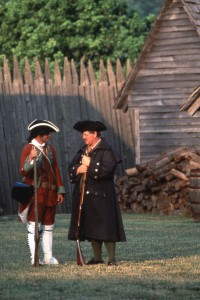 Fort Loudoun reenacators Furs to Factories Heritage Trail