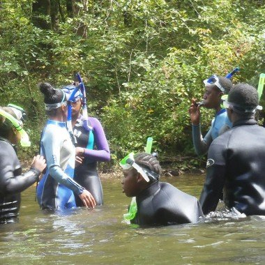 Conasauga River / Fish Viewing
