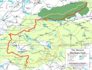 hiking benton mackaye trail in tn