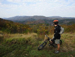 Mountain Biking - Boyd's Gap